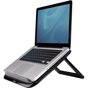 Podstawa pod laptop Quick Lift I-Spire czarna Fellowes, 8212001